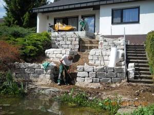 Fertigstellung der Jura-Trockenmauer